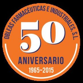 50 aniversario, desde 1965 a 2015, dedicados a la comercialización y fabricación de todo tipo de obleas.
