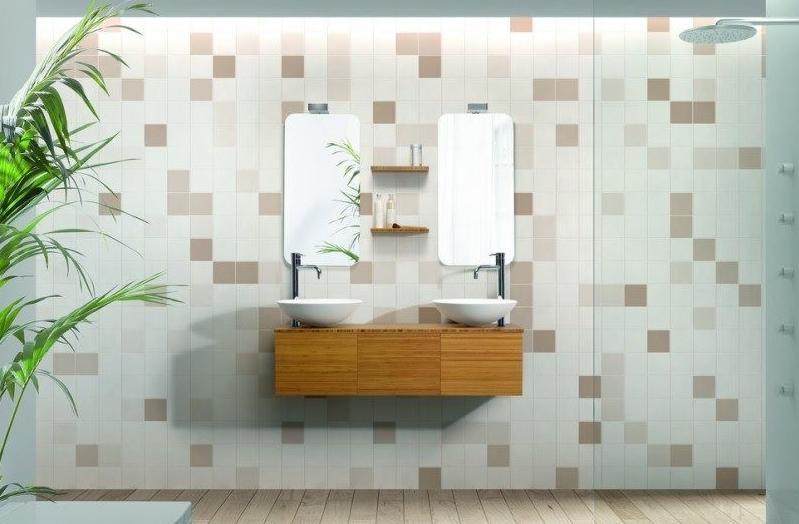 Mueble de ba o vidrebany colecci n cube modelo bambu - Muebles sant boi ...