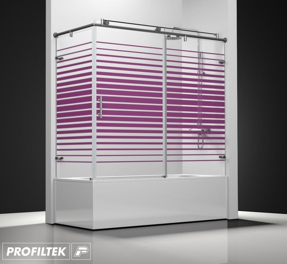 Mamparas Para Baño A Medida:Mampara de baño a medida Profiltek serie Steel modelo ST-101 Classic