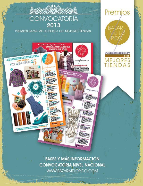 """Premios """"Bazar me lo Pido"""" 2013: BLOG de LLONGUERAS MIRASIERRA"""
