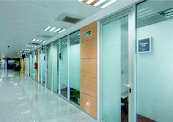 Muebles de oficina en asturias de calidad con tabiques for Mobiliario de oficina asturias