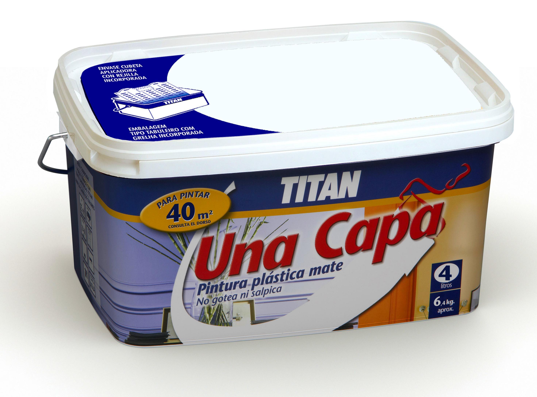 Pl stico tit n una capa for Pinturas titan catalogo