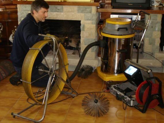3 limpieza de chimeneas le a gasoil y gas servicios - Limpieza chimeneas de lena ...