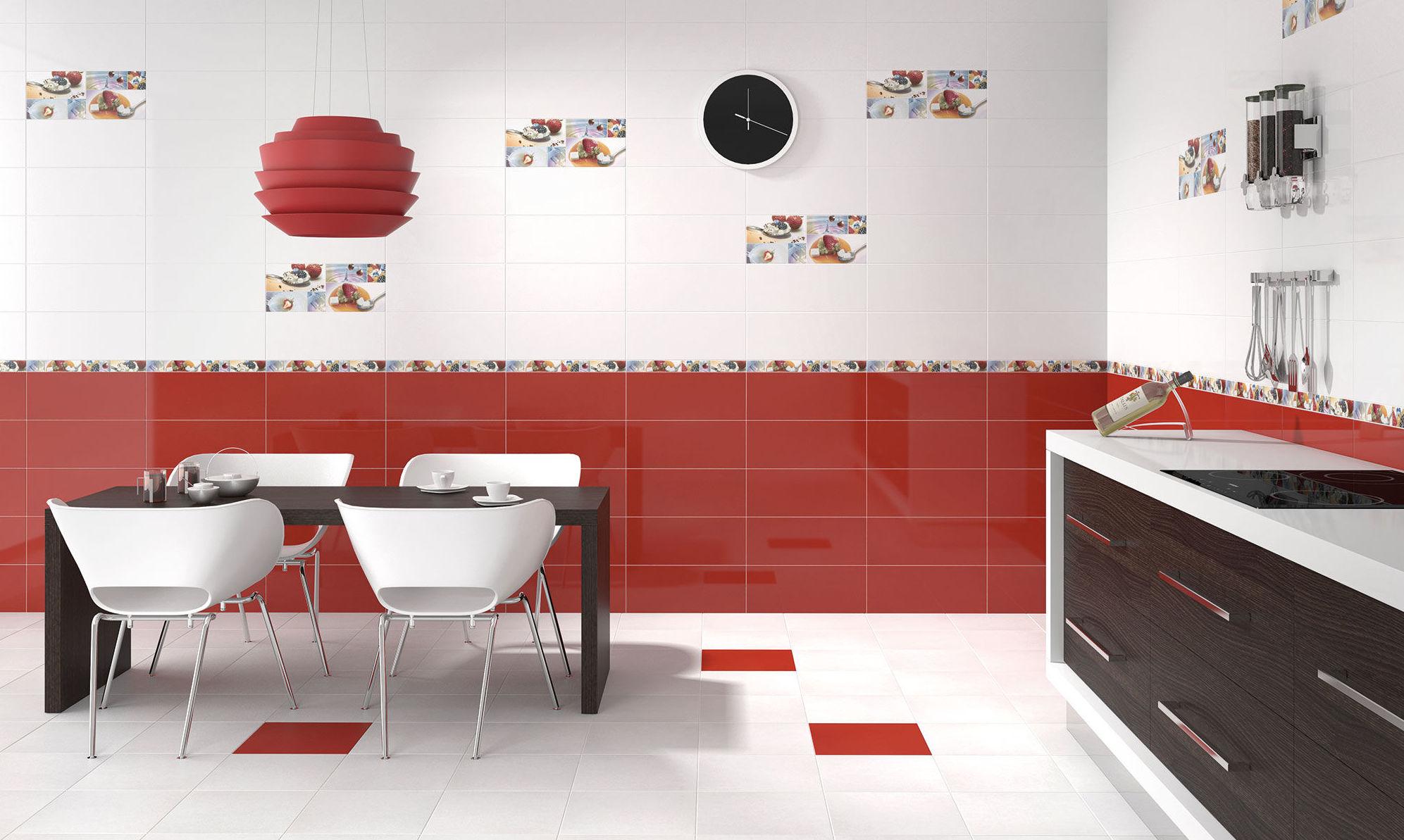 Rojo negro y blanco for Saneamientos baratos