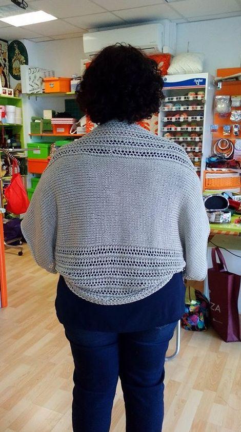 Cubre espalda de Manuela
