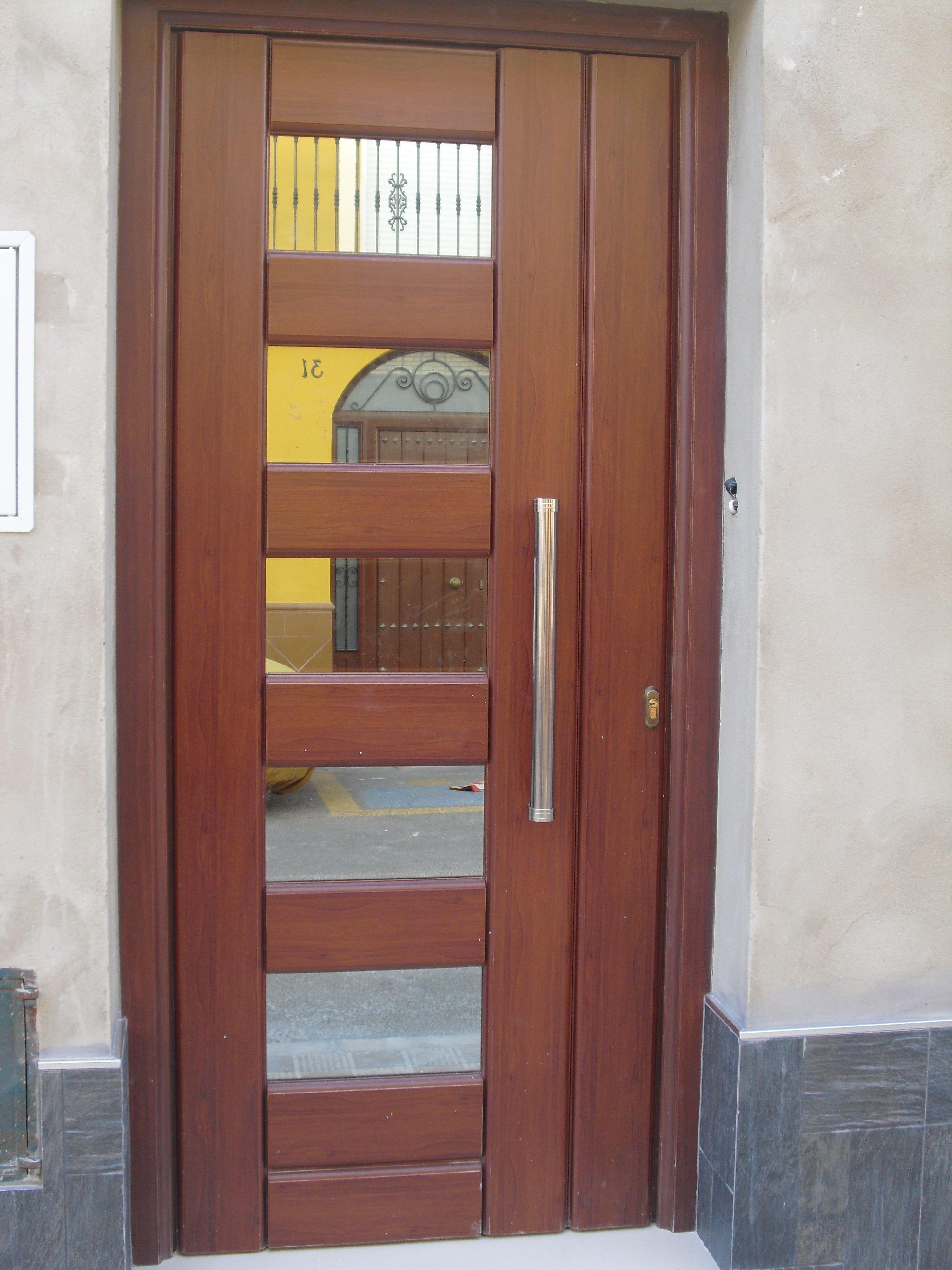 Puertas de aluminiopure nudist junior for Puertas en aluminio