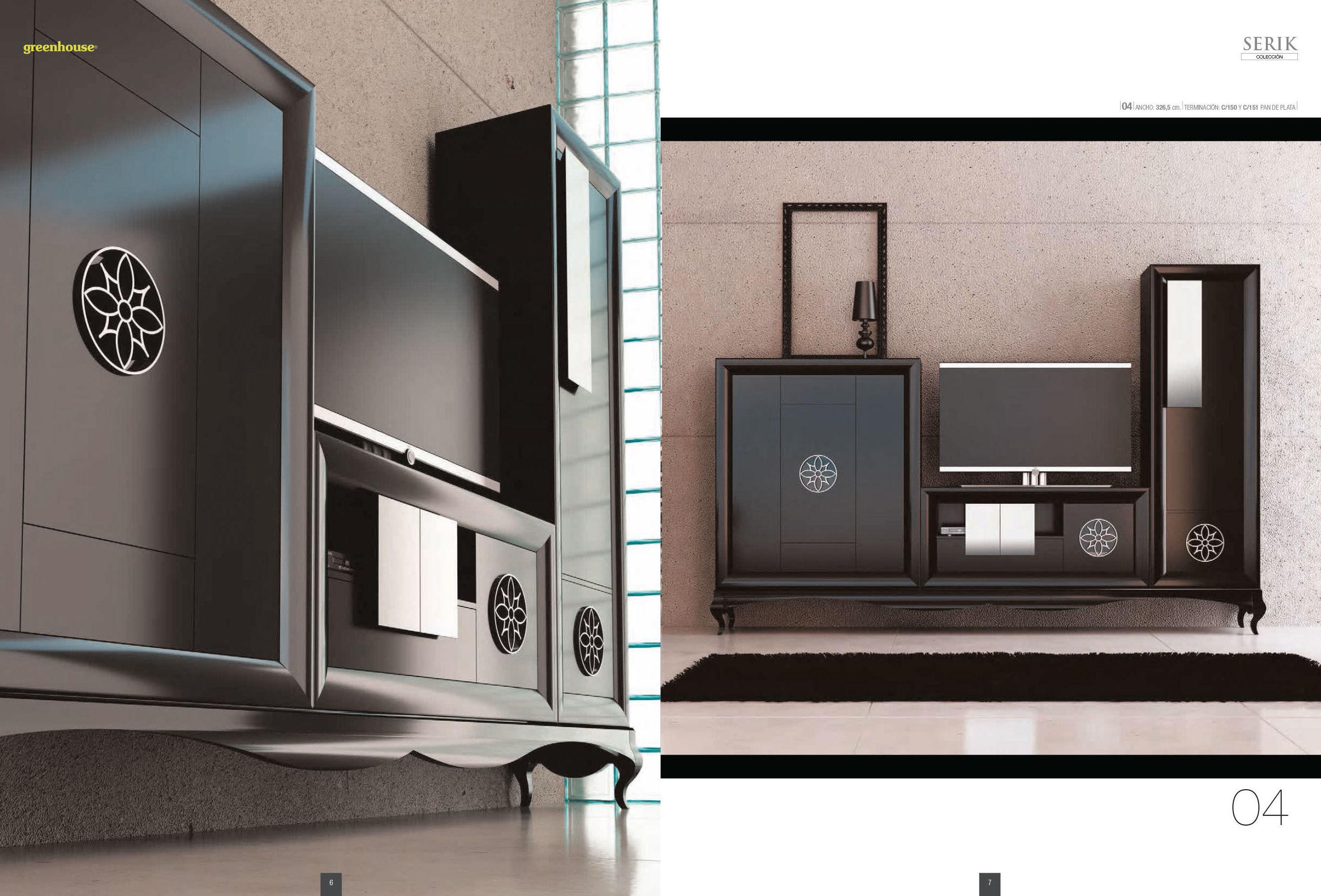 Furniture colecci n serik dormitorios y salones cat logo for Catalogo de salones