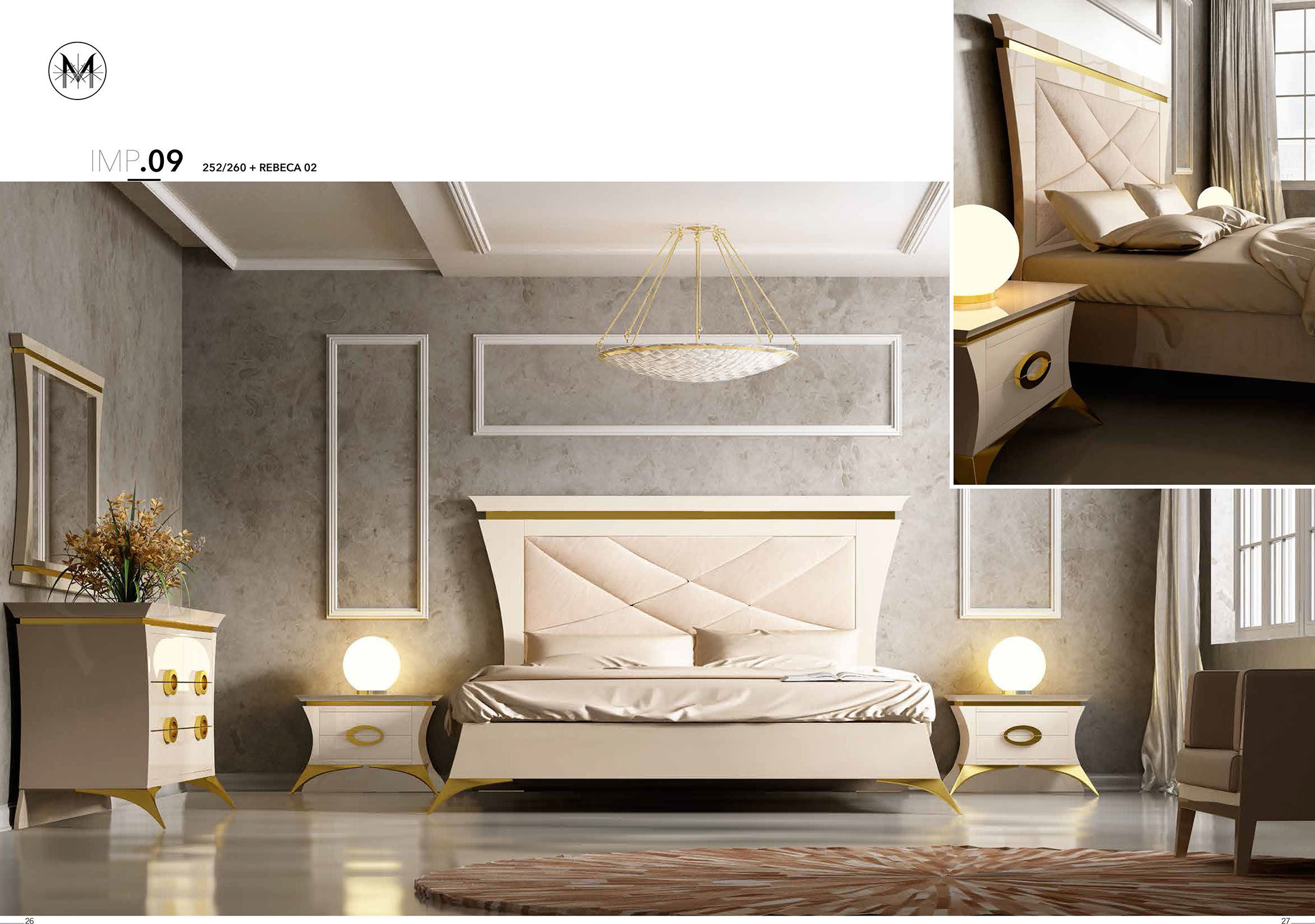 Franco furniture colecci n imperial cat logo de muebles y - Franco furniture precios ...