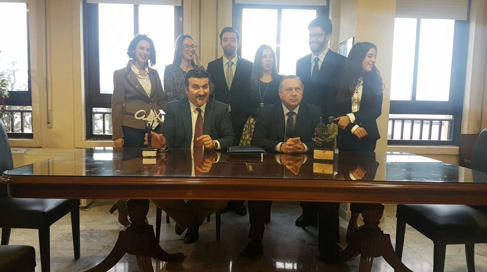 Salón de reuniones Legalsegur Cádiz
