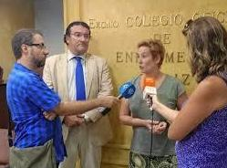 Rueda de prensa Colegio Enfermeria