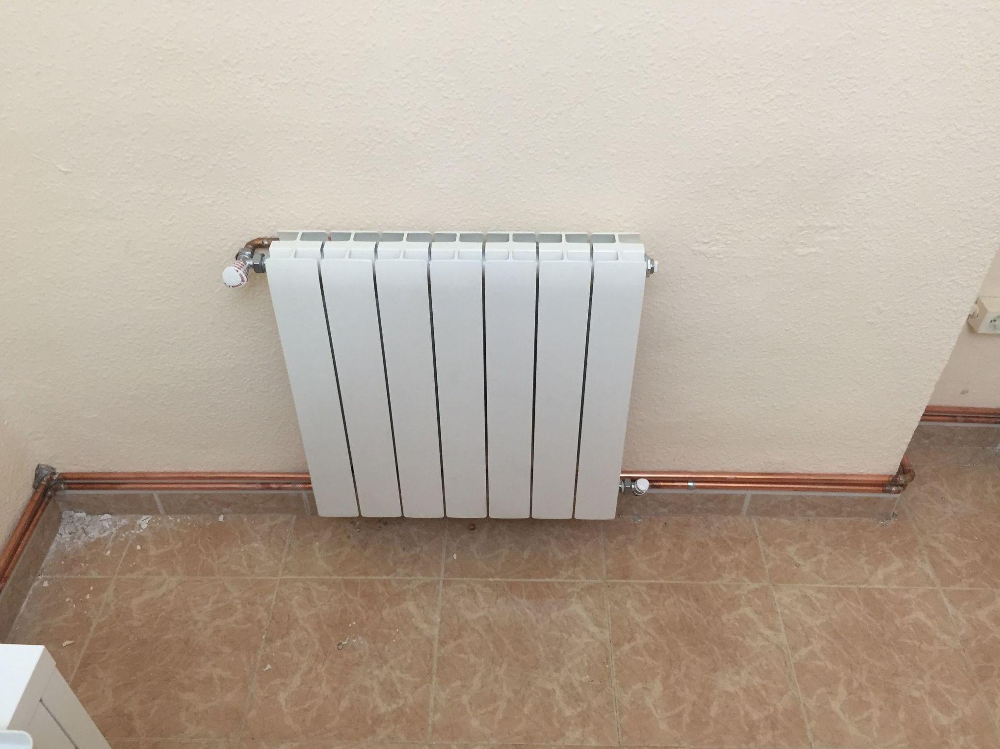 Foto 14 de fontaneros en carlet j c calleja instalaciones - Instalacion calefaccion radiadores ...