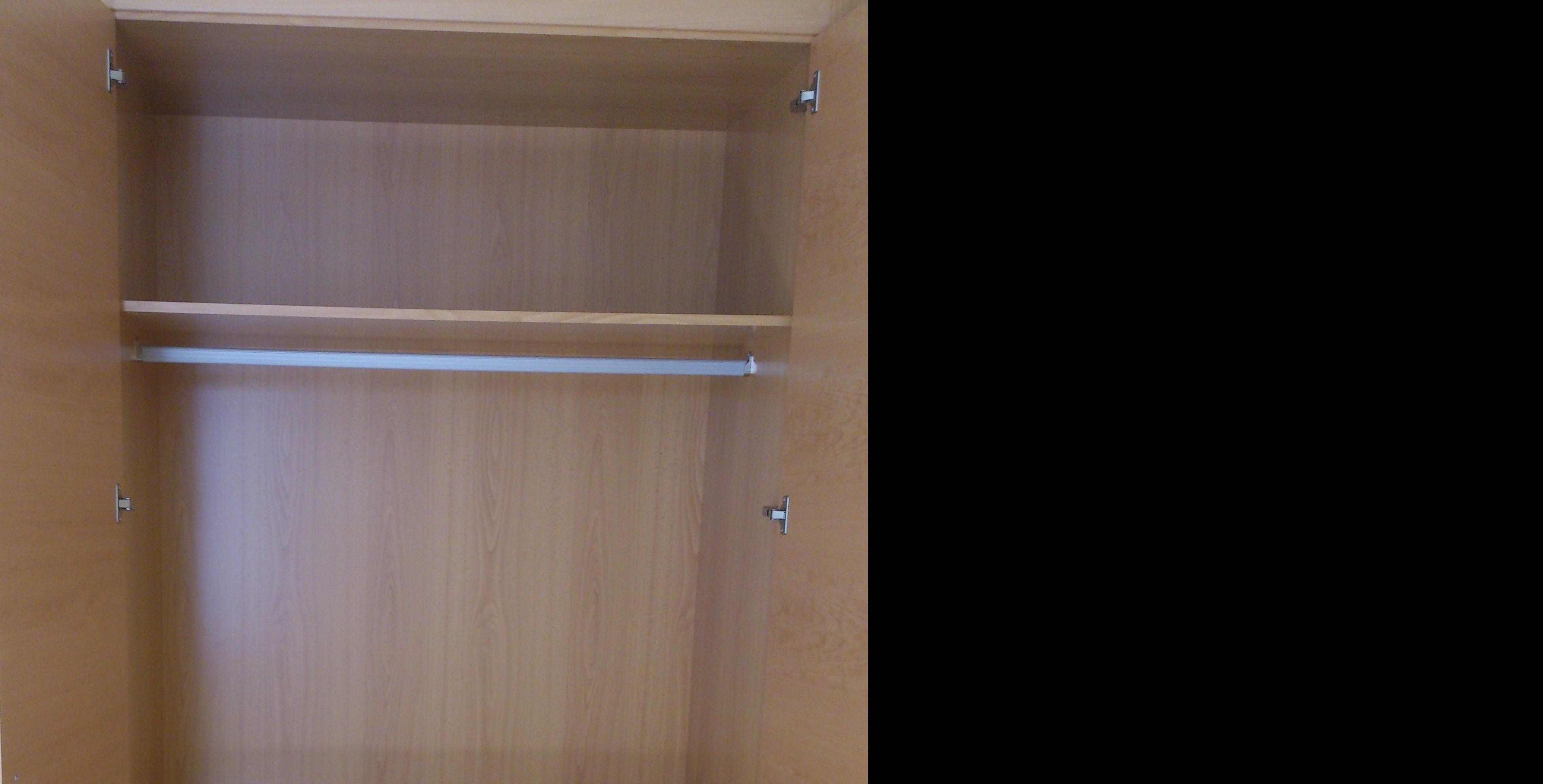 Distribucion interior de armario