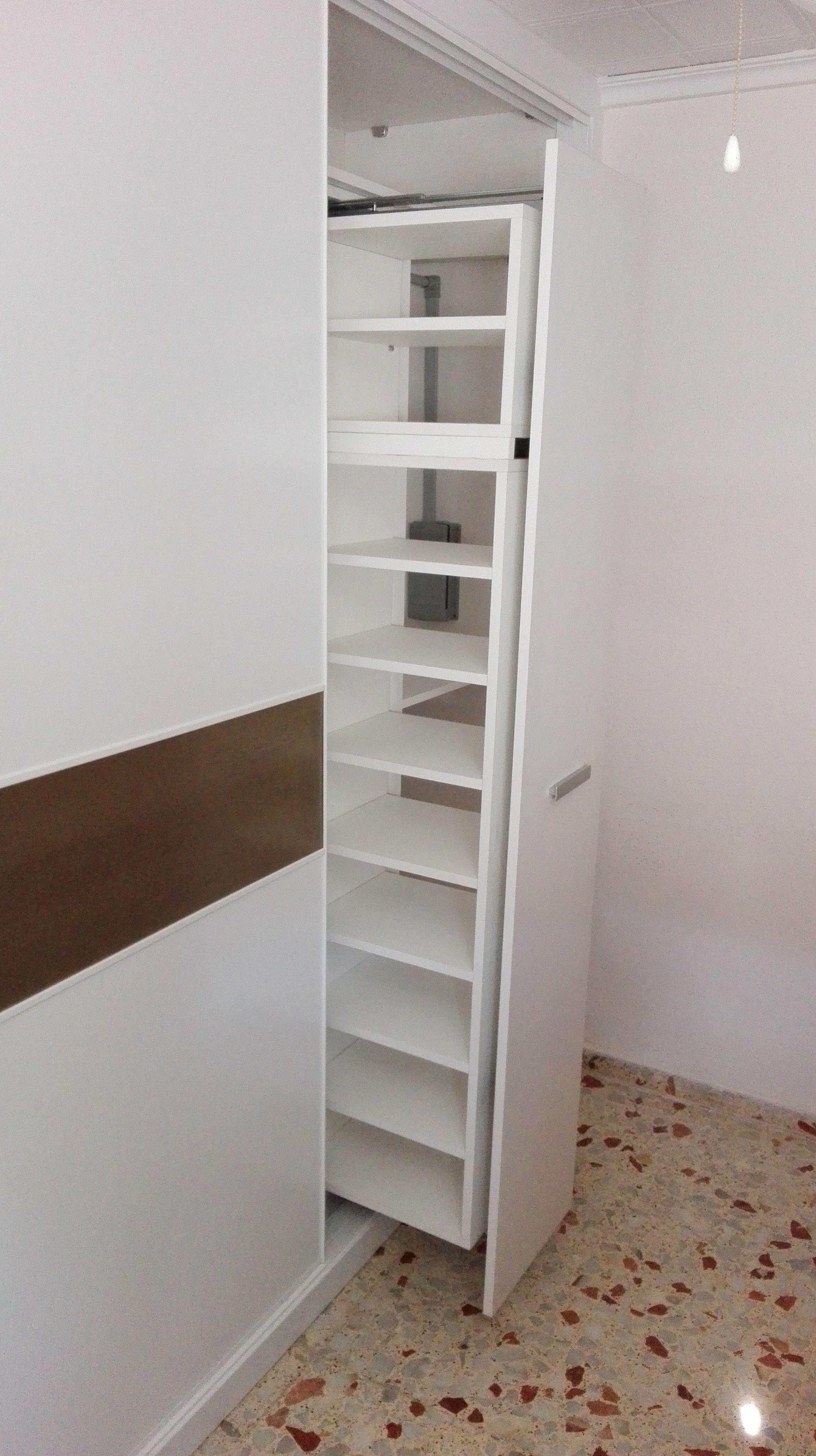 Foto 21 de armarios en la boutique del armario for Zapatero extraible