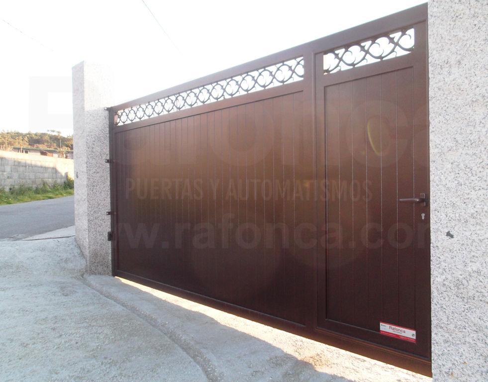 Cancelas corredera y batientes cat logo de rafonca for Puertas y automatismos