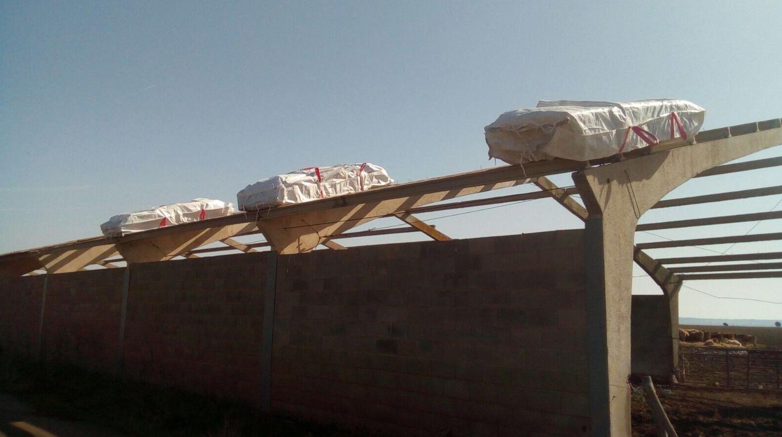 Retirada de amianto en nave de Valladolid