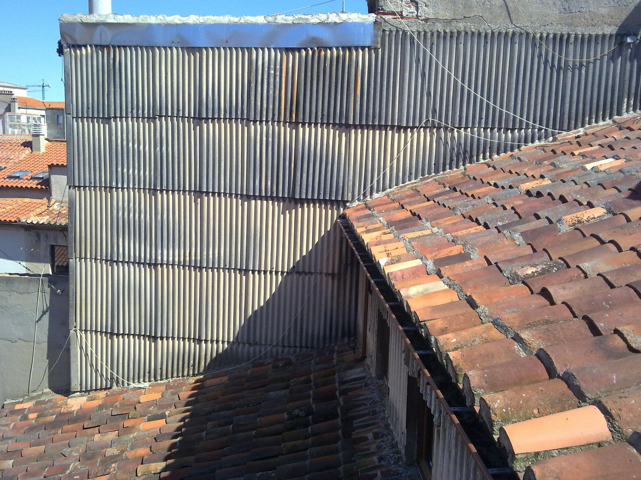 fibrocemento con amianto en Salamanca
