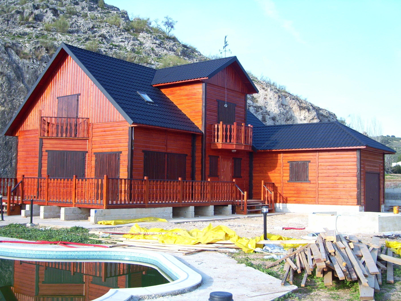 Modelo sevilla cat logo de casas de madera mt - Casa madera sevilla ...