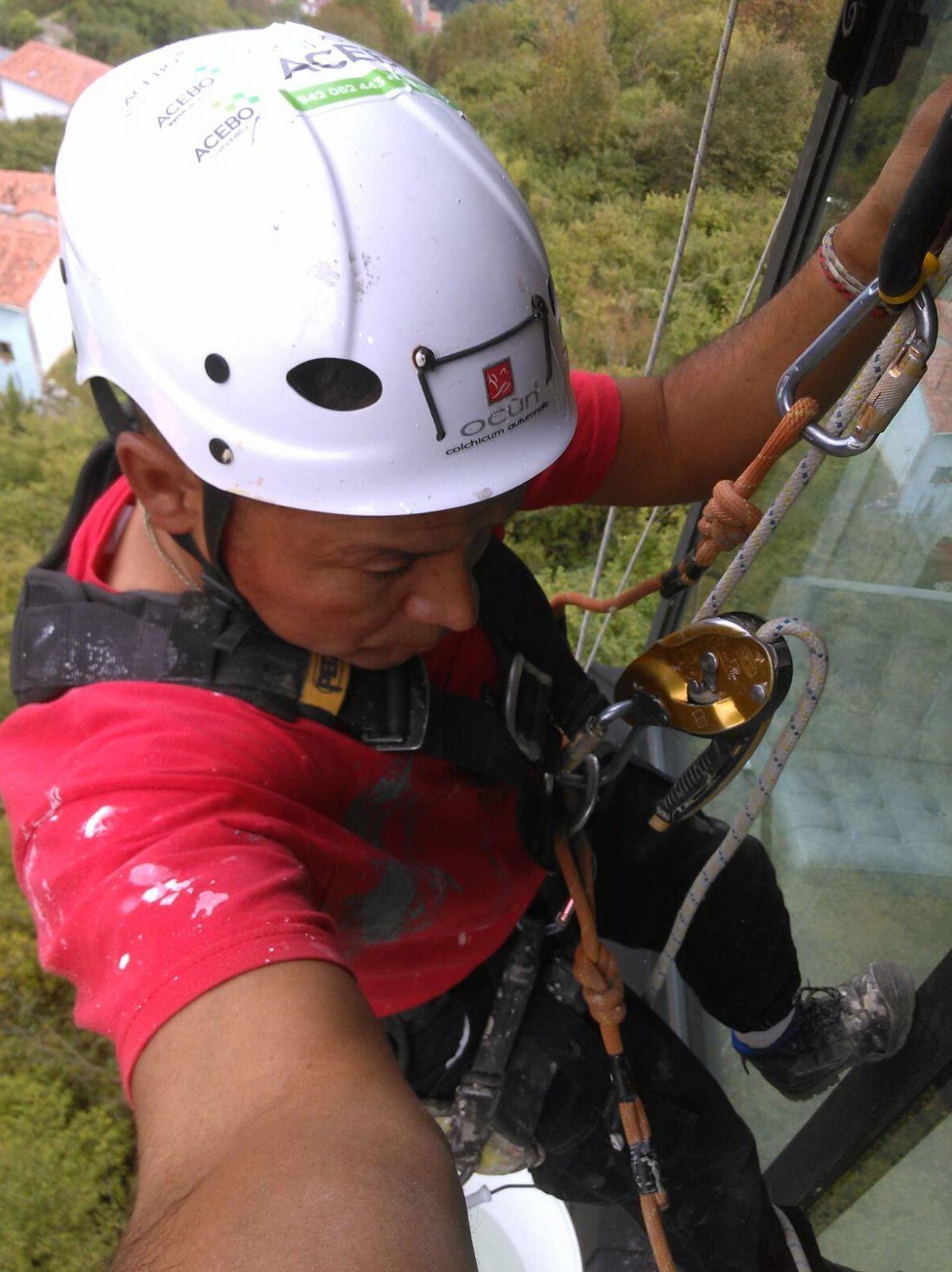 Trabajos verticales en Cantabria