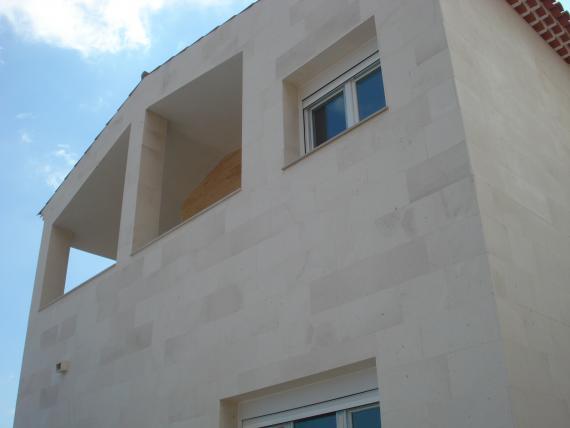 Misma fachada terminada
