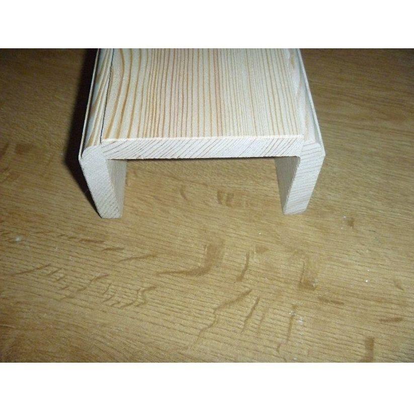 Vigas huecas de madera medio bocel vigas de madera de - Vigas de madera huecas ...