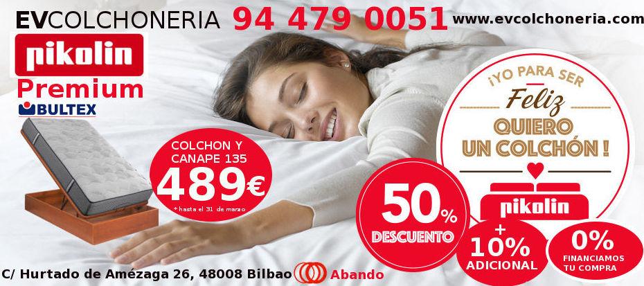 Foto 6 de Colchonería en | Colchonerías EV Pikolin Premium