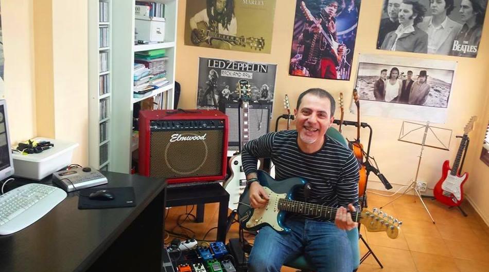 Gontzal, uno de nuestros profesores de guitarra