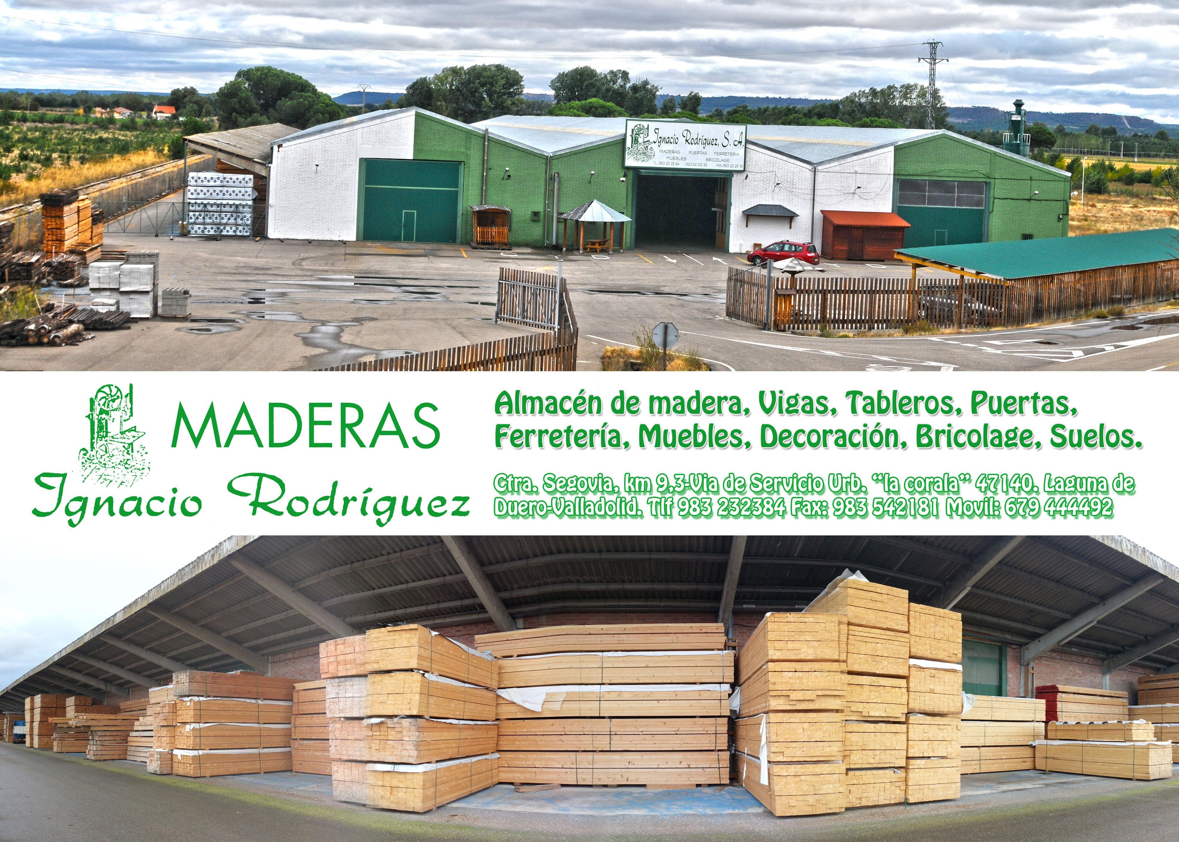 Maderas ignacio rodriguez valladolid materiales de construcci n para la reparaci n - Materiales de construccion sevilla ...