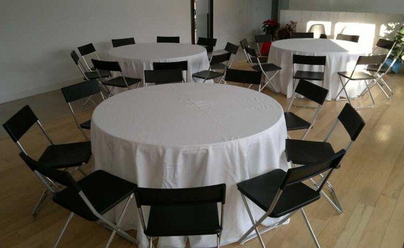 Alquiler manteleria para bodas, banquetes, comuniones, eventos, Aviles.