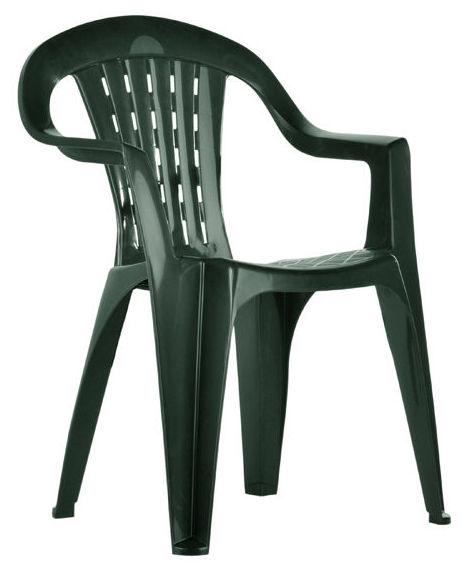 Alquiler de sillas de plástico color verde, en Asturias.