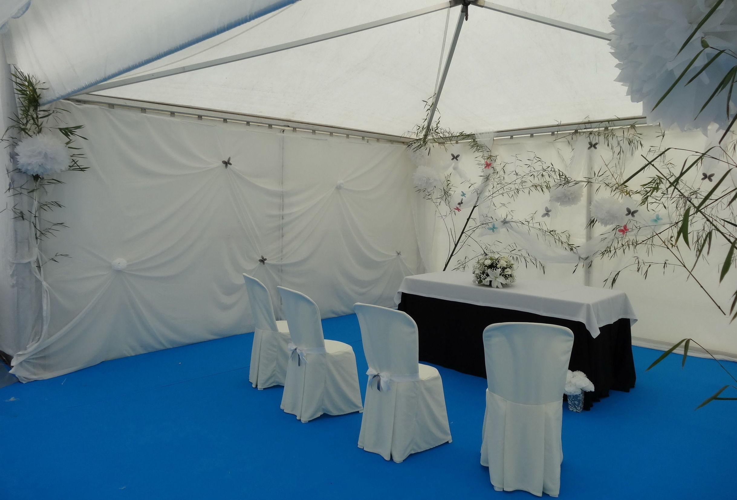 Alquiler de mobiliario para bodas y ceremonias en Asturias.
