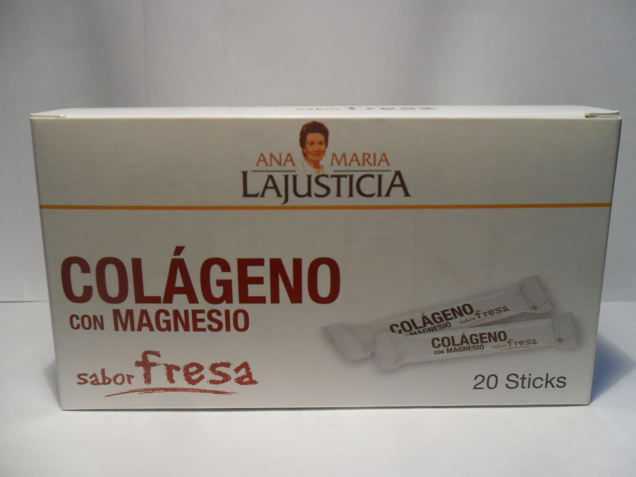Colageno Stick Ana Maria La Justicia    : Catálogo de productos de Herbolario El Monte