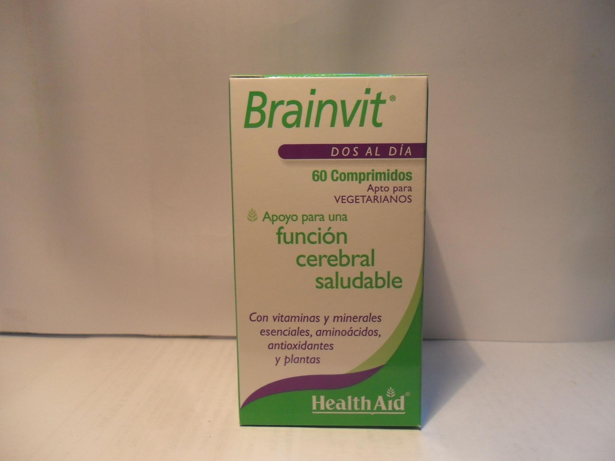 Brain Vit  Health Aid         : Catálogo de productos de Herbolario El Monte