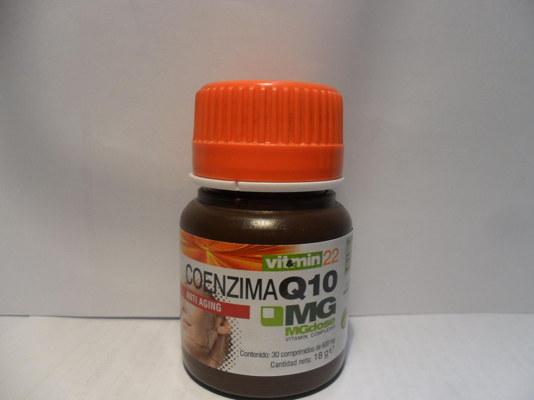 Coenzima Q10  MGdose    : Catálogo de productos de Herbolario El Monte
