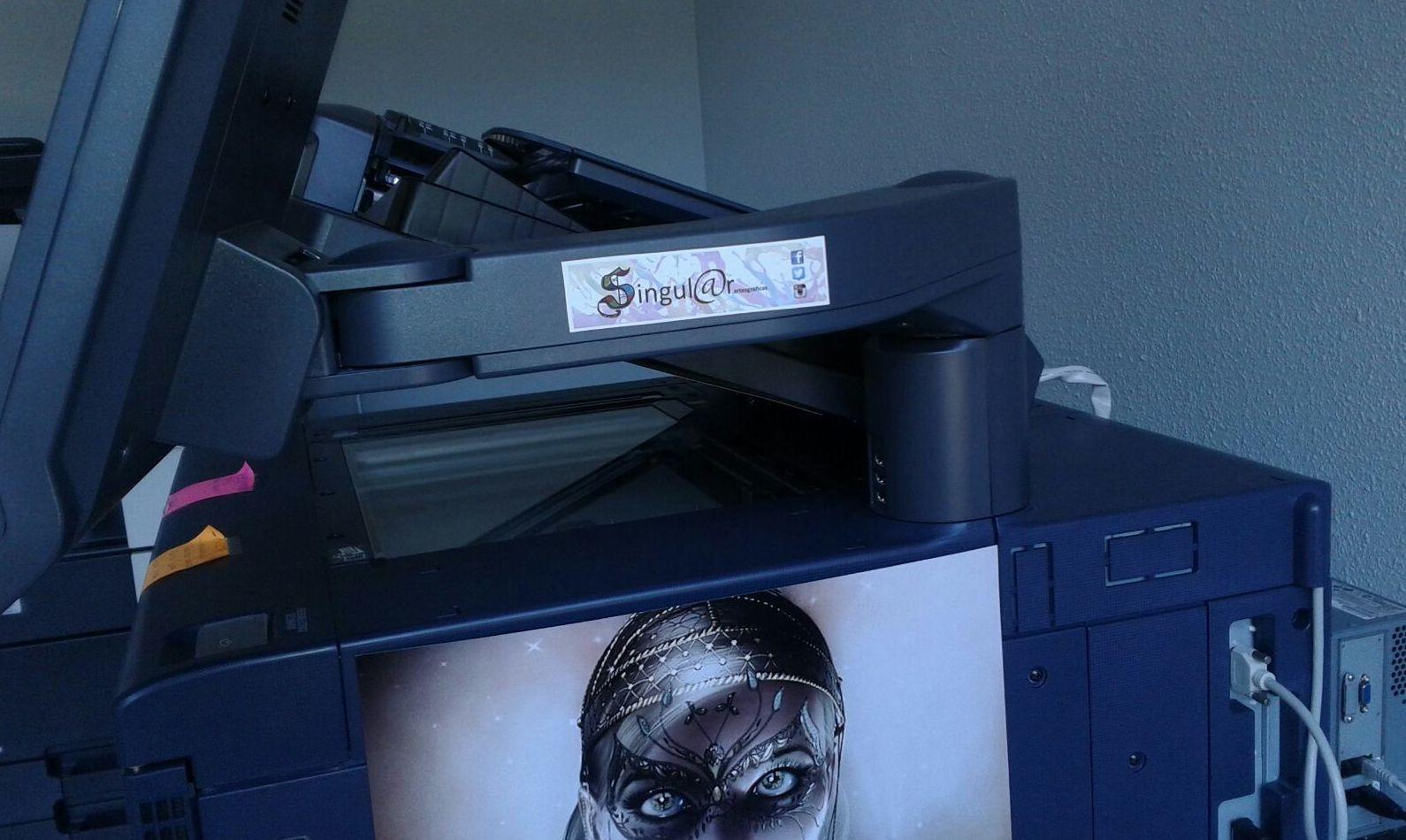 Fotocopias: Productos y Servicios de Singul@r Artes Gráficas