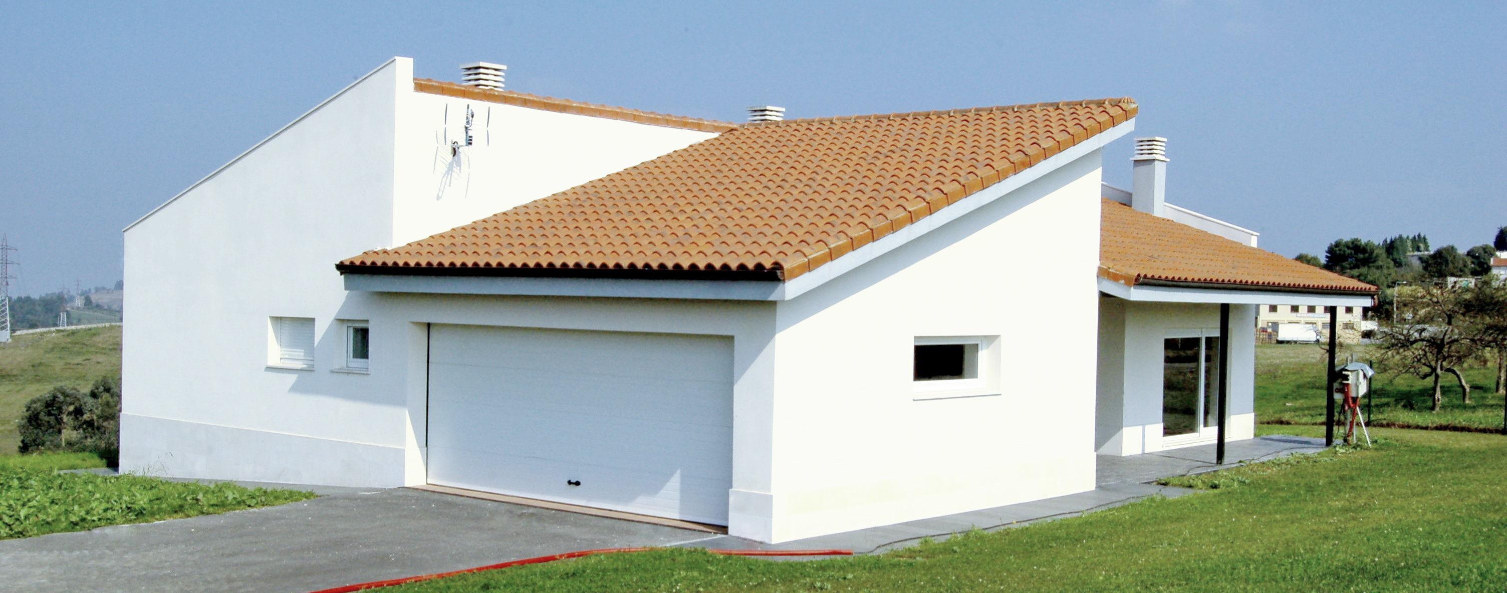 Fachadas chalets great aislamiento exterior de fachada con sistema sate with fachadas chalets - Fachadas de casas modernas planta baja ...