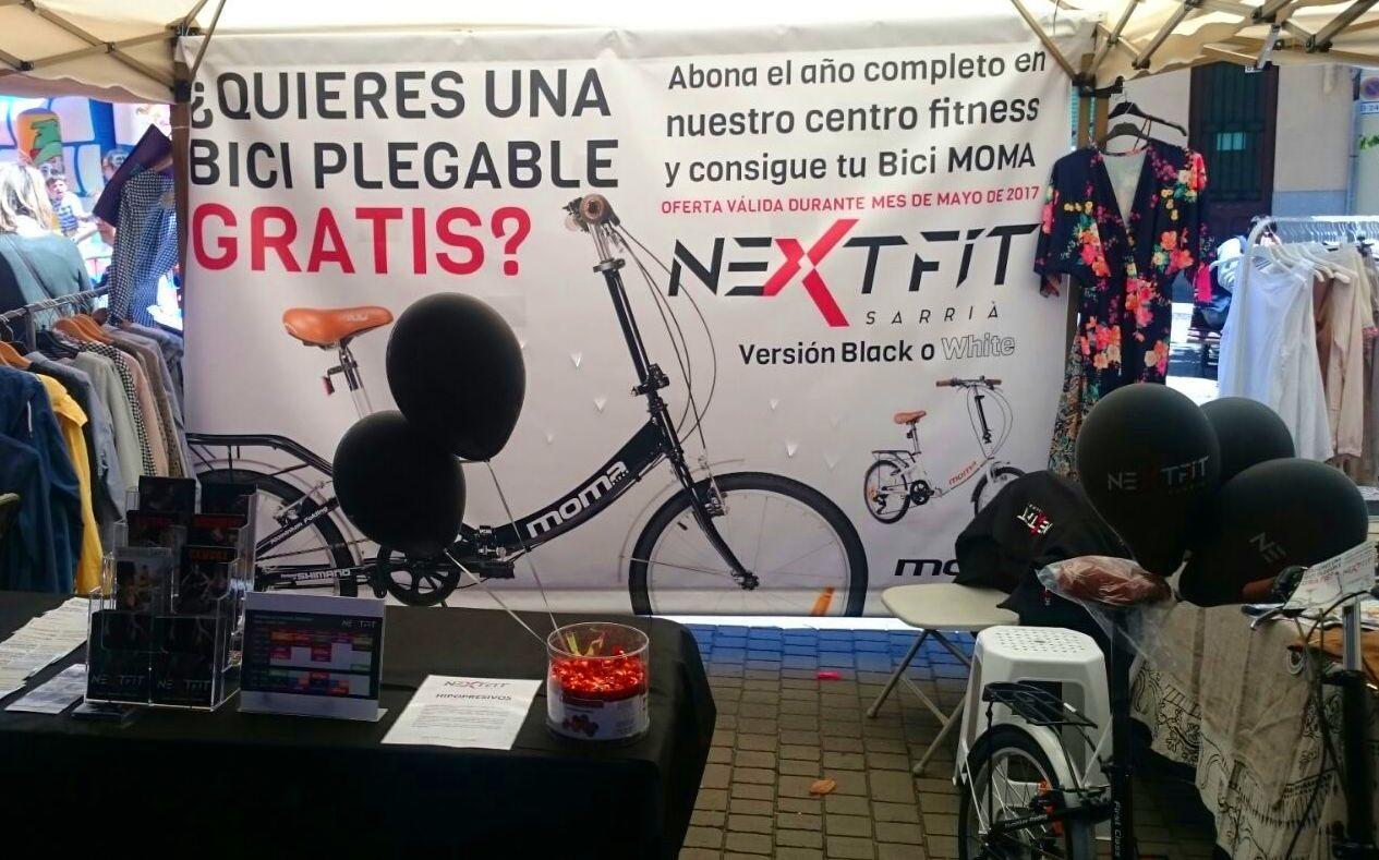 Nextfit en la feria del comercio de Sarria
