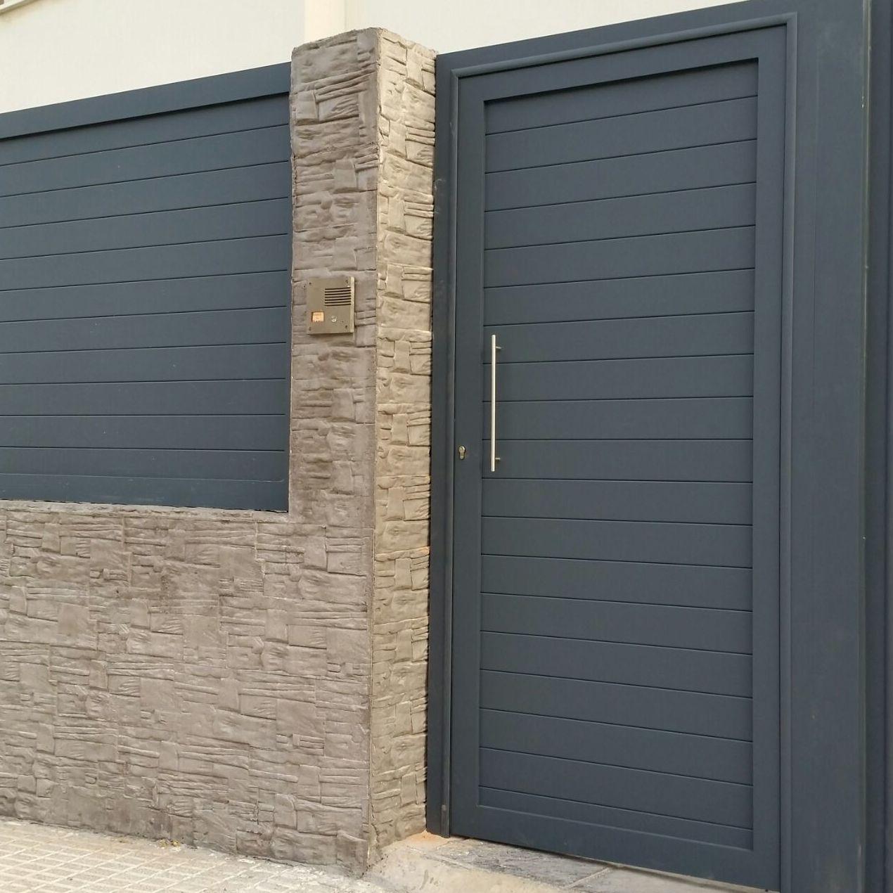 Puertas de vallas finest valla de jardn with puertas de - Puertas de valla ...