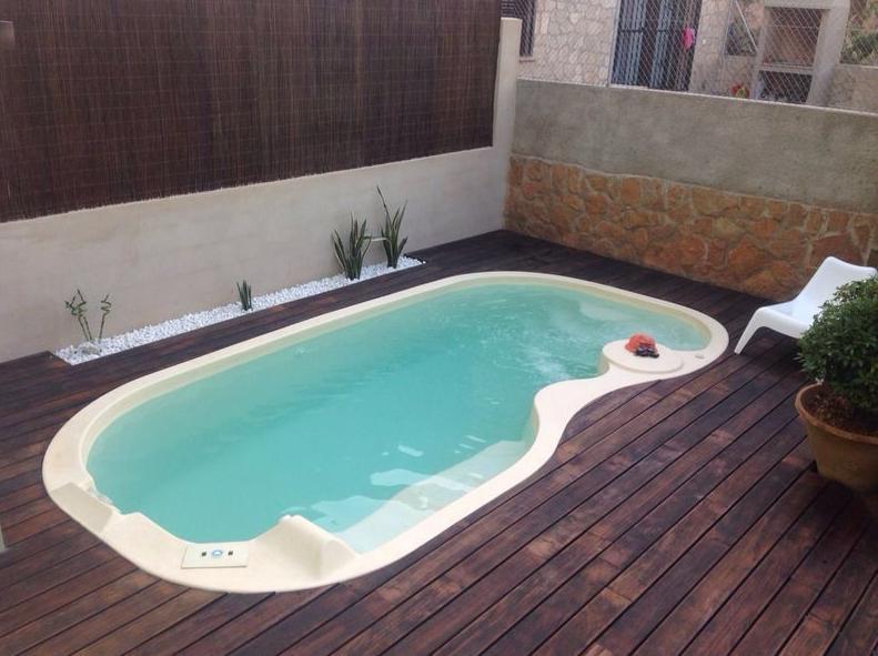 piscina de poliester san remo