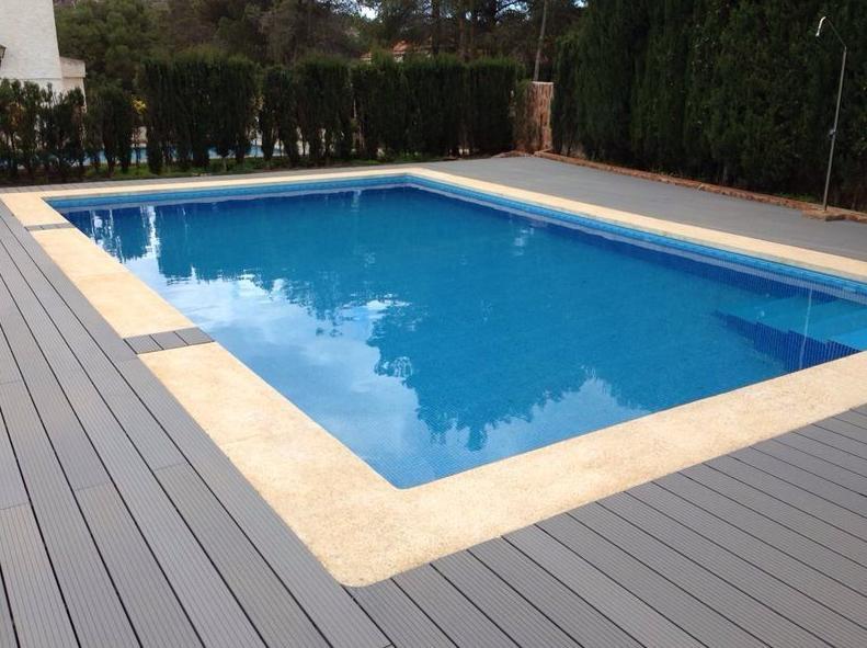 Construcción de piscina barata