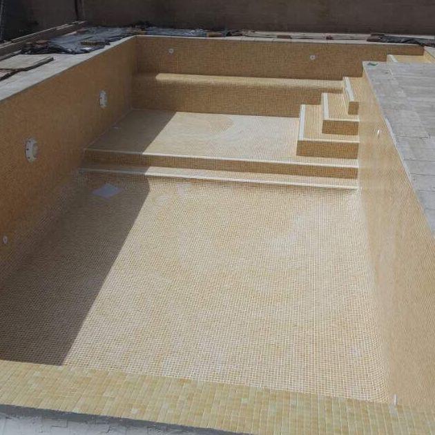 piscina de obra de 9x5