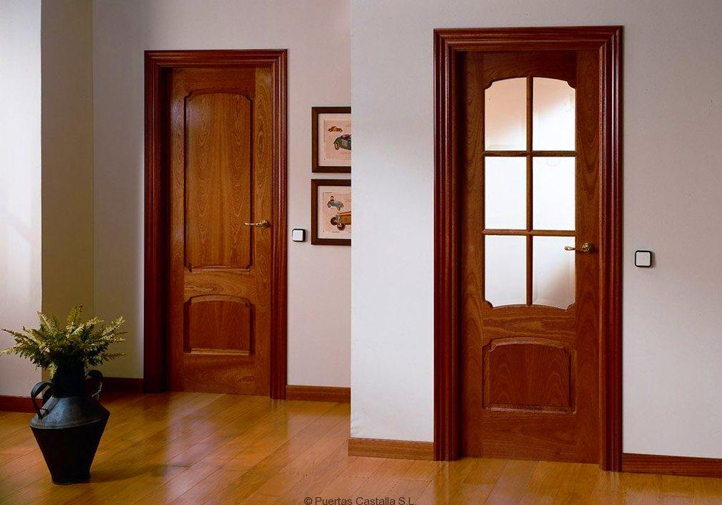 Puertas de interior cat logo de jv car carpinter a for Color puertas interiores