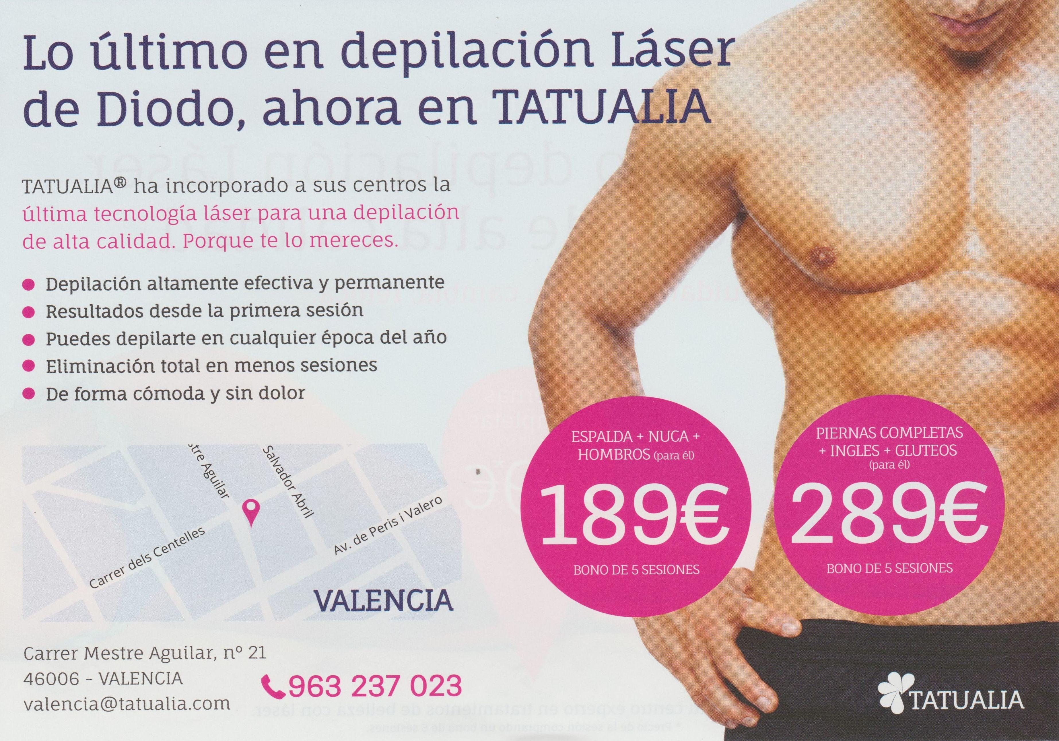 Foto 264 de Centros de belleza en València | TATUALIA-Valencia