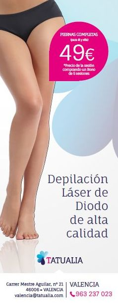Centro en Valencia, Especializado en Depilación Láser Diodo