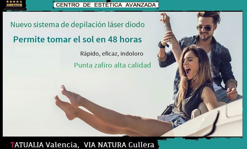 Depilación Láser Diodo Valencia