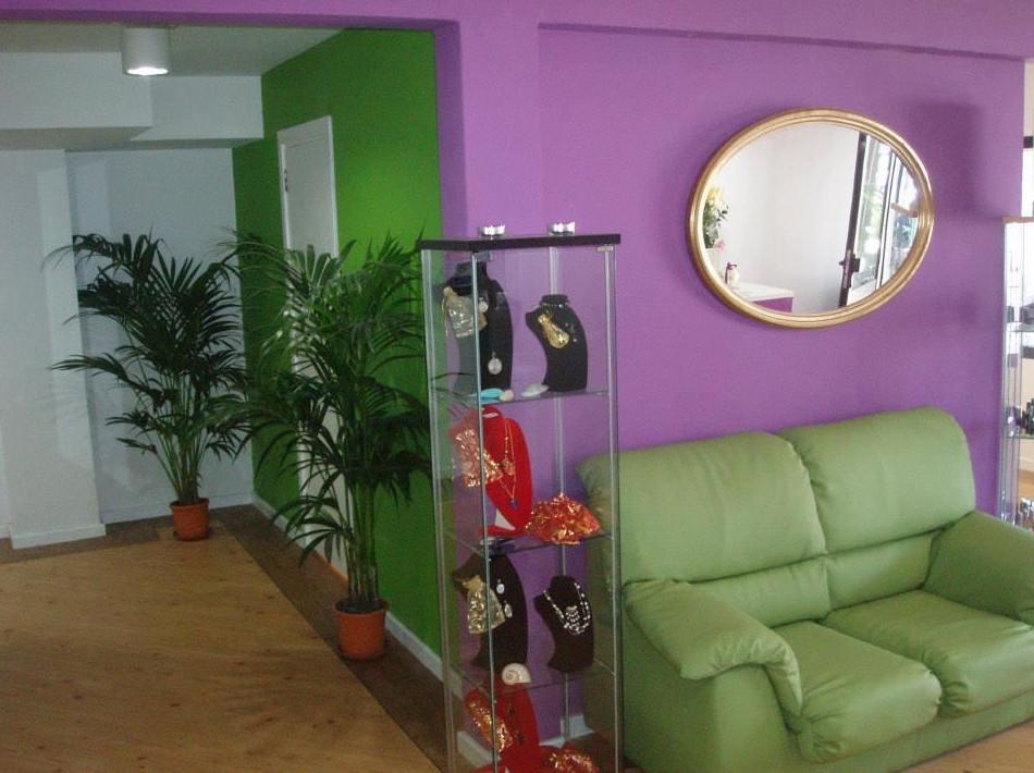 Sala de espera de nuestra peluquería