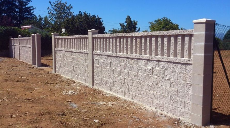 ideas de diseo como hacer un muro de hormigon a una cara muros de bloques