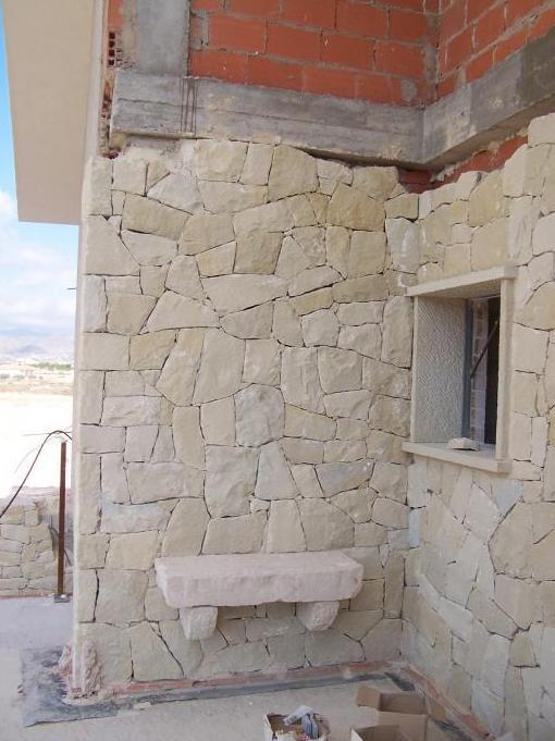 Piedra blanca fachada materiales de construcci n para la - Piedra caliza para fachadas ...