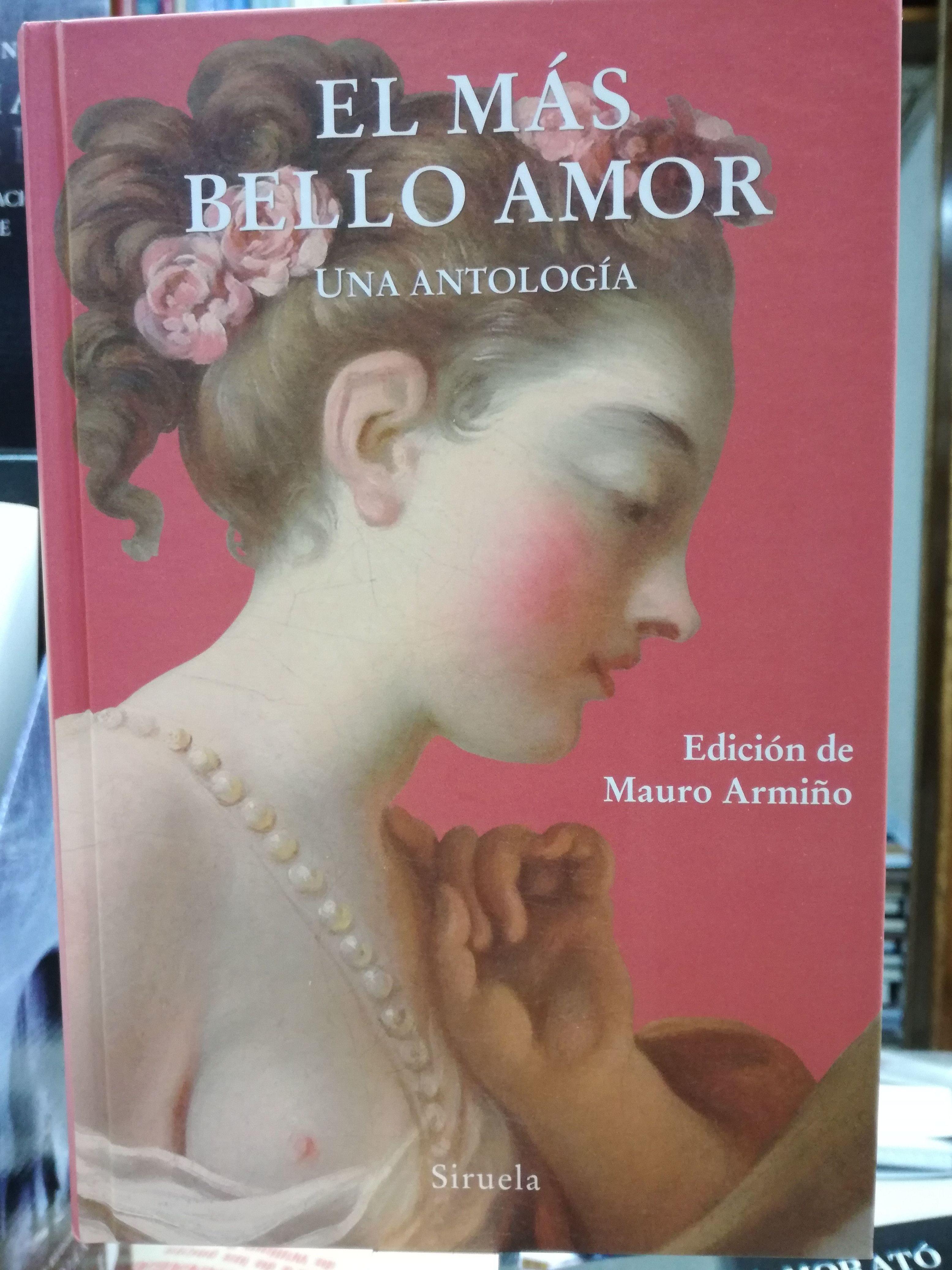 EL MAS BELLO AMOR: UNA ANTOLOGIA : SECCIONES de Librería Nueva Plaza Universitaria