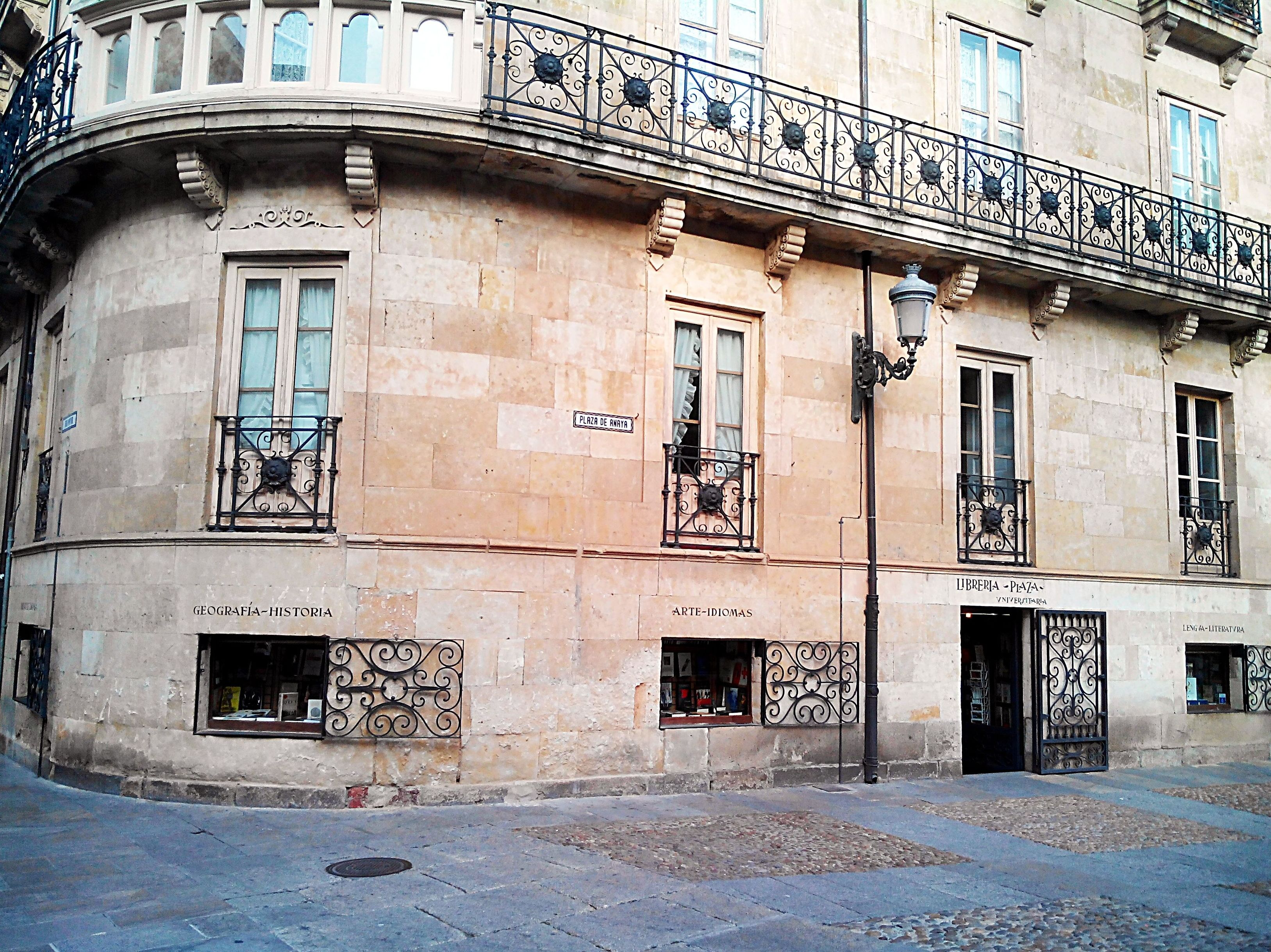 librería Salamanca