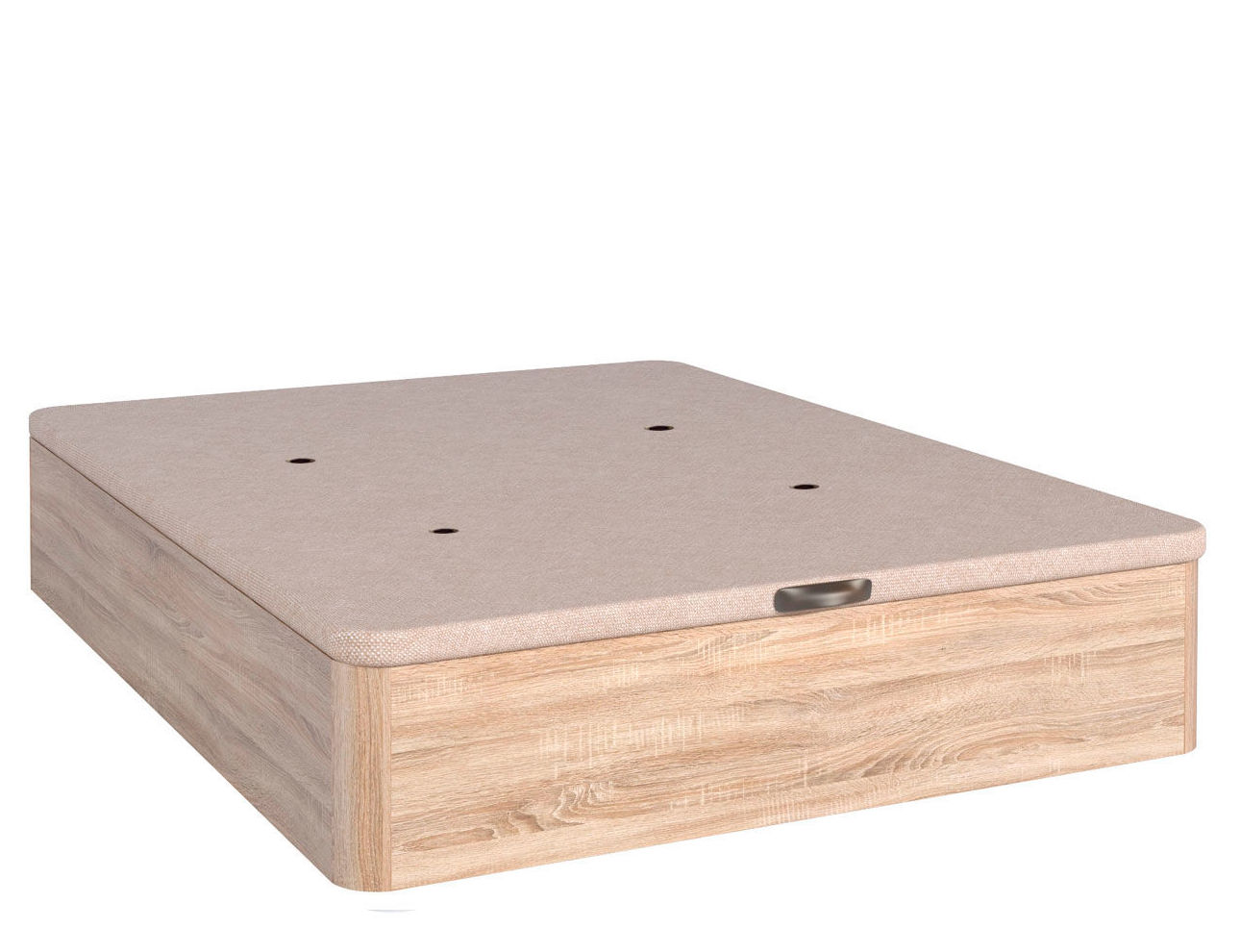 Canap madera reforzado d25 catalogo de aqu colch n for Oferta canape mas colchon